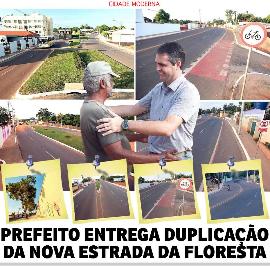 Marcus Viana entrega primeira etapa da duplicação da Estrada da Floresta e novo acesso à Baixada da Sobral