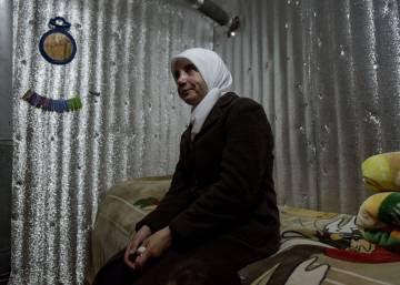 Iman Maatoa, casi tres años presa en su refugio