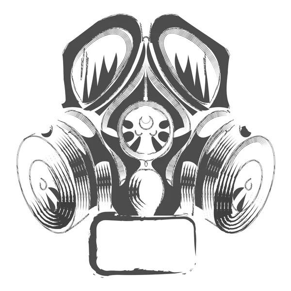depositphotos_108638250 stock illustration vector respirator graffiti steampunk style