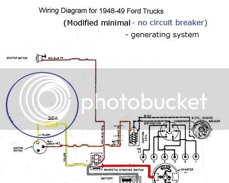 Wiring Diagram Database  6 Volt Positive Ground Wiring Diagram