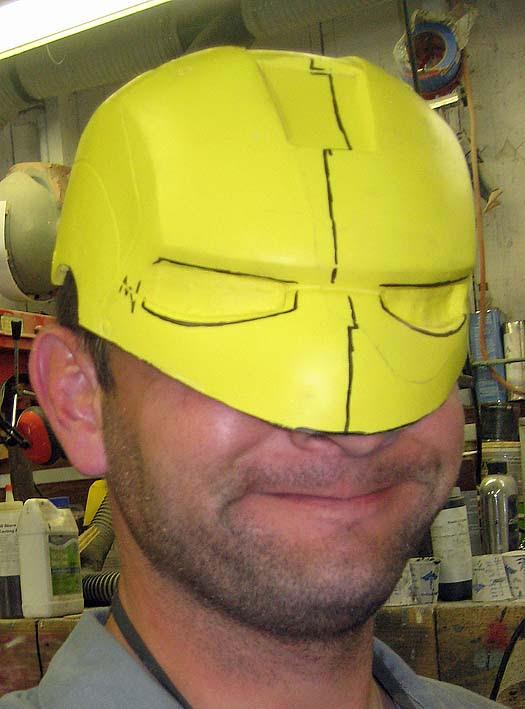 Helmet Stretching 2