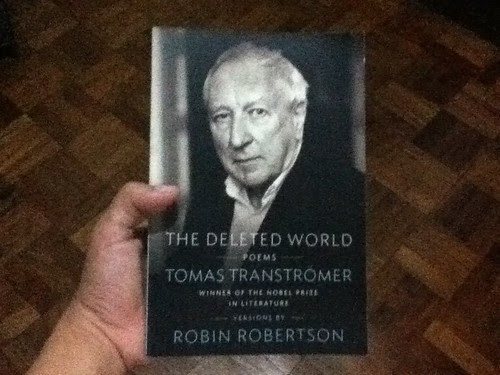 The Deleted World by Tomas Tranströmer