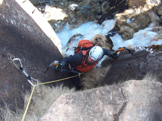 Guided Ice Climbing in the Drakensberg