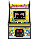 My Arcade Bubble Bobble Micro Player - Collectible Mini Arcade Machine, Yellow