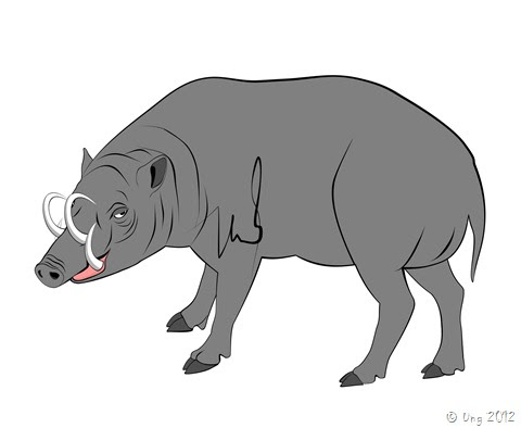 88 Gambar Babi Hutan Kartun Terlihat Keren