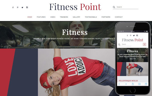 Fitness Point a Sports Category Flat Bootstrap Responsive Web Template by w3layouts
