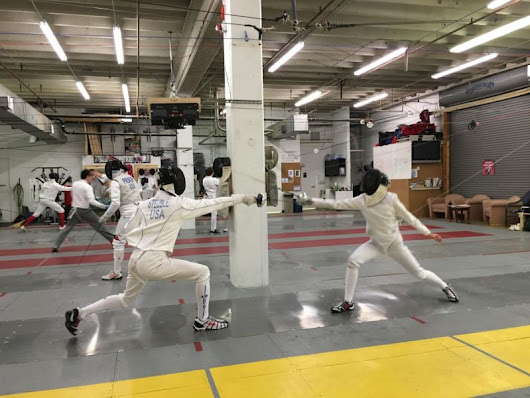 Nova Fencing Club Sends 2 Fencers to the Junior Olympics