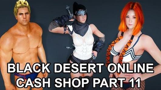 black desert cash shop update 11 new kunoichi limited. Black Bedroom Furniture Sets. Home Design Ideas