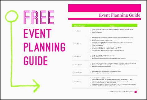 5  Printable Church event Planning Checklist