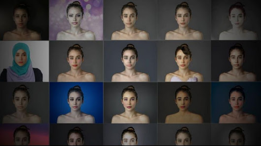 Video: Digitally Altered Selfies Examine Global Standards of Beauty