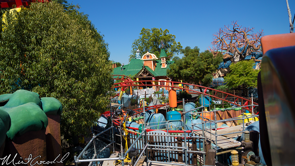 Disneyland Resort, Disneyland, Mickey's Toon Town, Refurbishment, Refurb, Gadget's Go Coaster