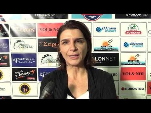 Δείτε τις δηλώσεις Καπογιάννη και Καλαμπάκου μετά τον αγώνα των γυναικών του Παναθηναϊκού με τον Παναθλητικό για το κύπελλο Ελλάδας