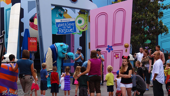 Disneyland Resort, Disney California Adventure, Hollywoodland, Monsters Inc, Mike and Sully to the Rescue