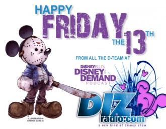 Happy Friday The 13th From Dizradiocom Dizradiocom A Disney