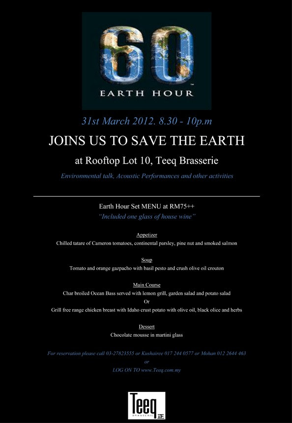 Earth Hour failed on Outdated Penang Uncle blogspot dot com