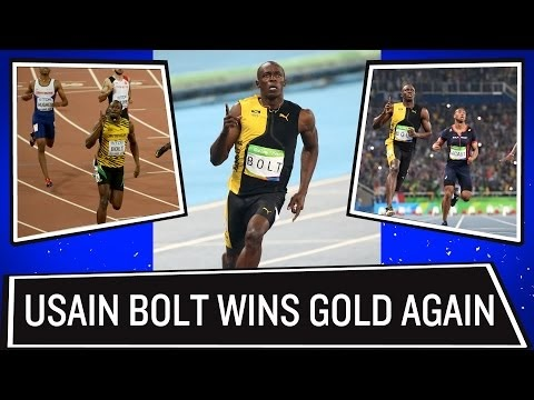 Usain Bolt wins gold in 100m sprint | Rio Olympics 2016