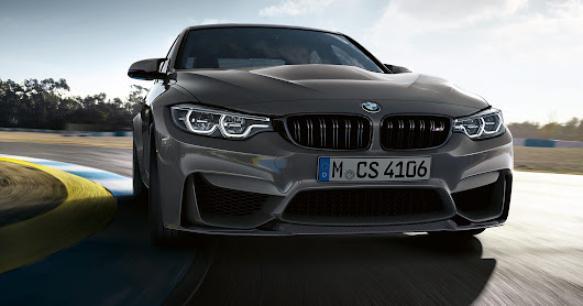 BMW amps up performance in new M3 CS sedan