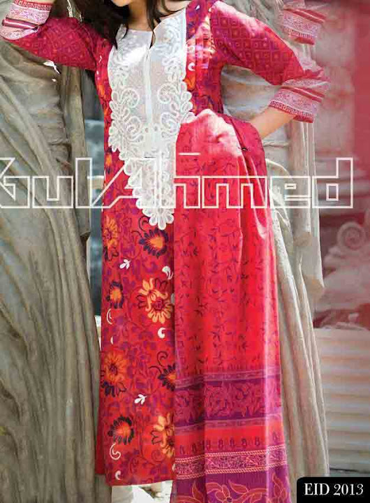 Gul Ahmed Ideas Eid Collection 2013 for Men and women