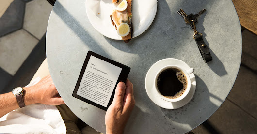 Amazon's latest Kindle, the Oasis, is revealed