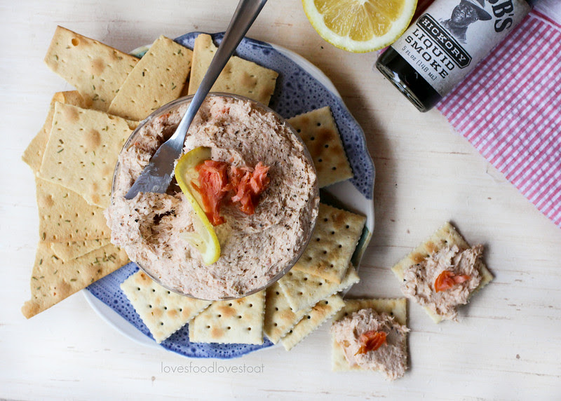 Smoked Salmon Dip #SoLetsPigOut // Loves Food, Loves to Eat