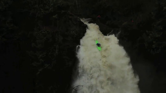 Fred Norquist (USA) - Entry for Best Line (Waterfall) - Bear River Falls - 1st D, Bear River, USA
