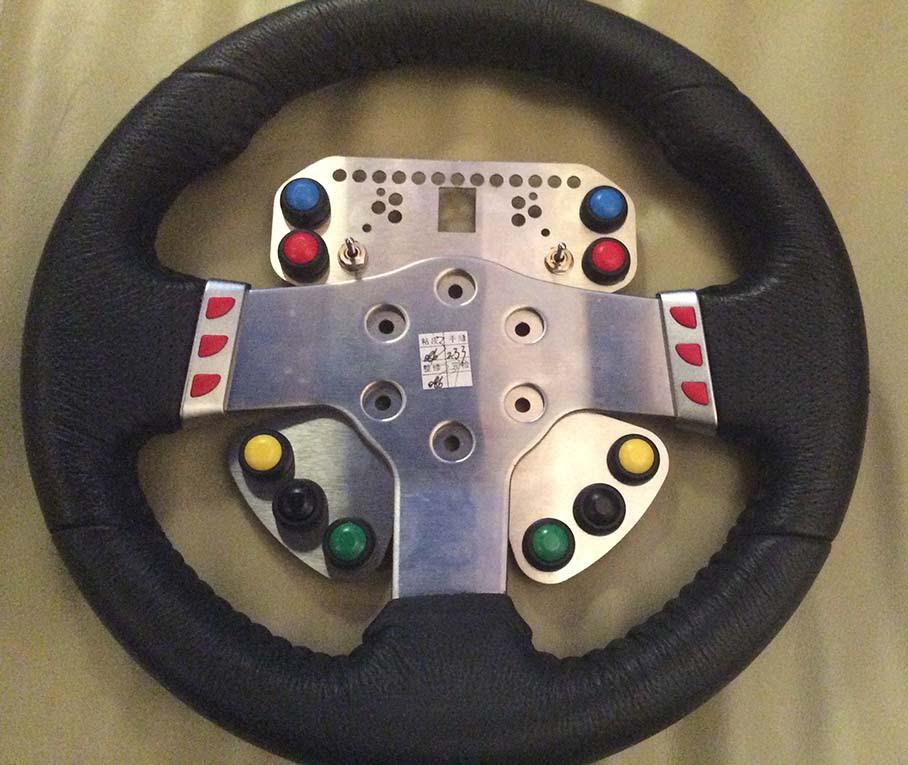 My New G27 Wheel Plate Sneak Peek Logitech Mods