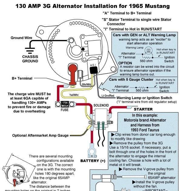 1970 Ford Mustang Alternator Wiring Diagram | schematic ...