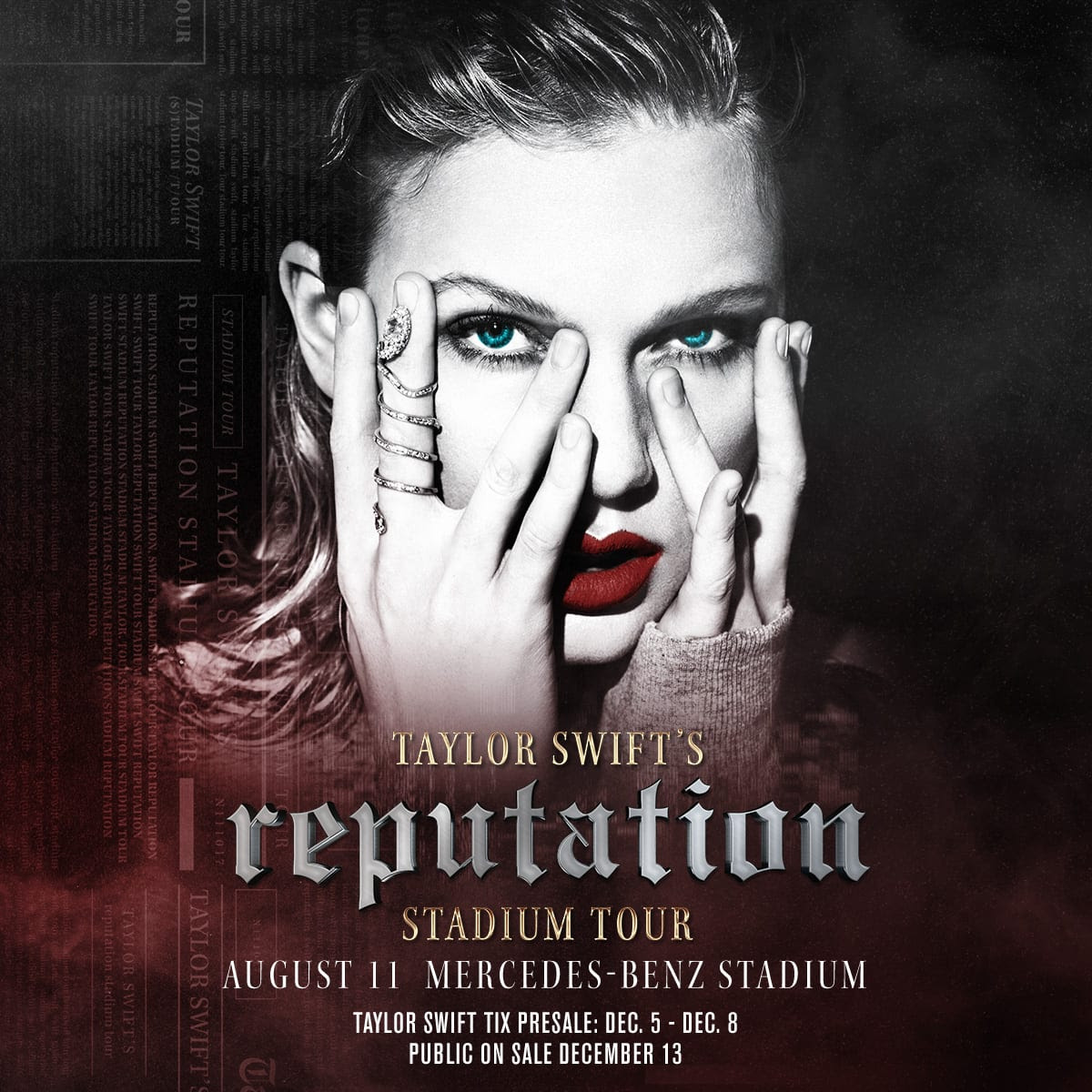 Taylor Swift reputation Stadium Tour Comes to Mercedes ...
