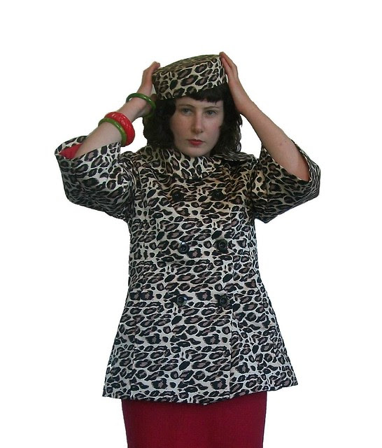 McCalls 5525 Jacket and matching pillbox hat
