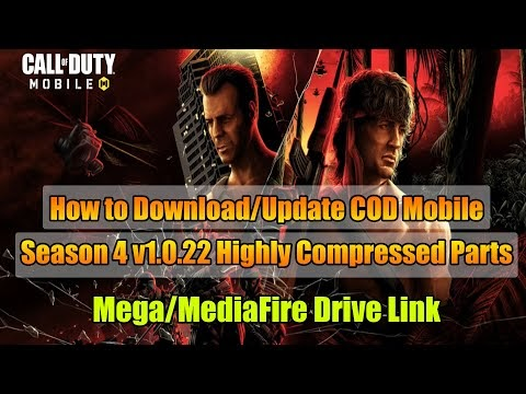 How to Download/Update COD Mobile Season 4 v1.0.22 Highly Compressed And...
