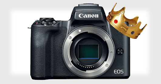 Canon is Already #1 in Mirrorless Cameras in Japan