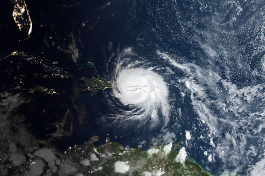 Hurricane Maria Lashes Puerto Rico : Image of the Day