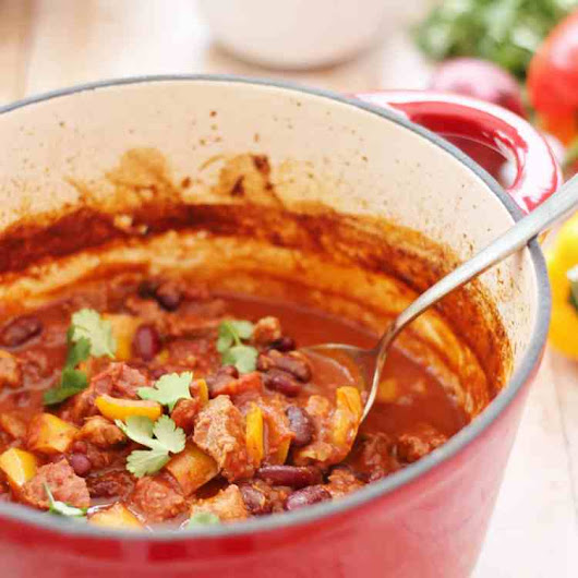 Spicy Mexican Lamb Stew - Easy Peasy Foodie