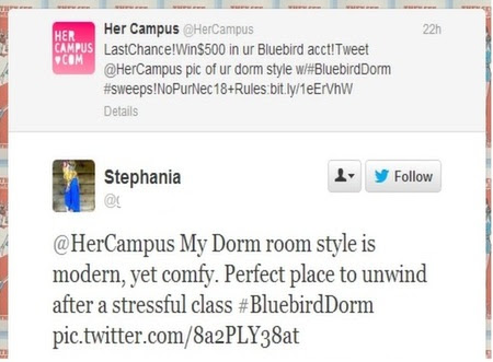 her campus engagement