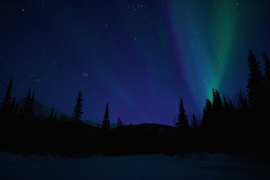 The Northern Lights in Wiseman Alaska - March 2015