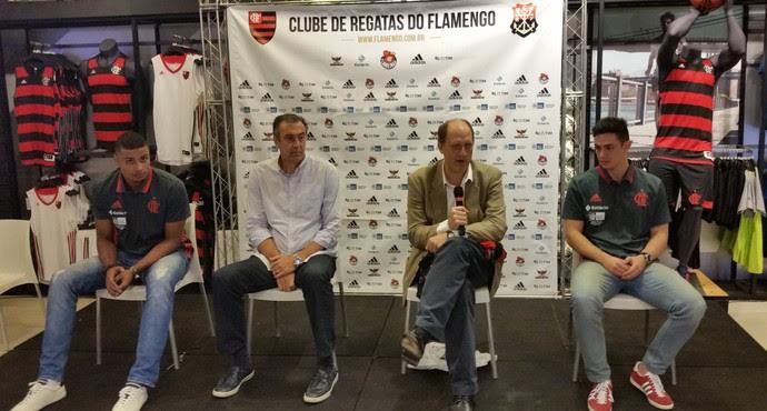Humberto, Marcelo Vido, Alexandre Póvoa e Ricardo Fischer (Foto: Marcello Pires)