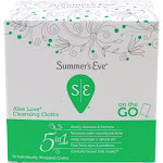 Summers Eve On the Go Cloths, Aloe Love - 16 cloths