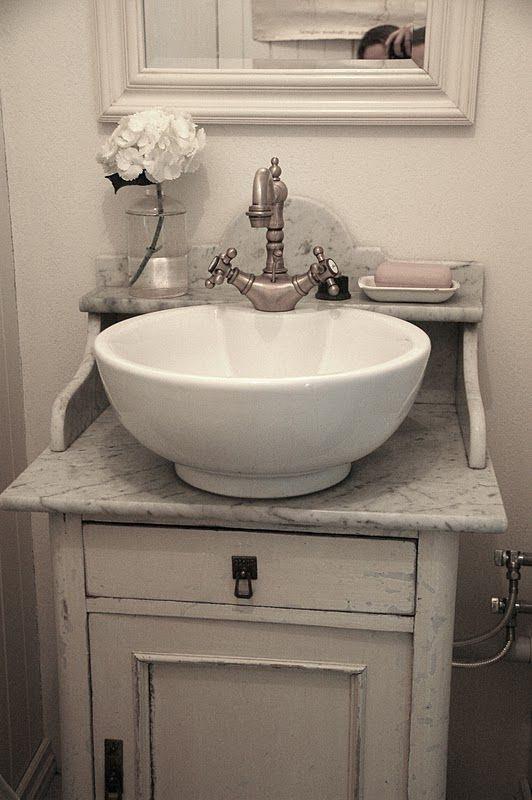 water heater alarm small bathroom sink