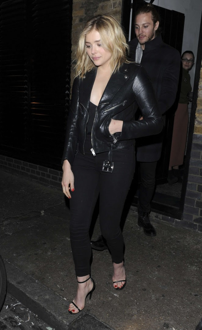 Chloe Moretz: Leaves the Chiltern Firehouse -06