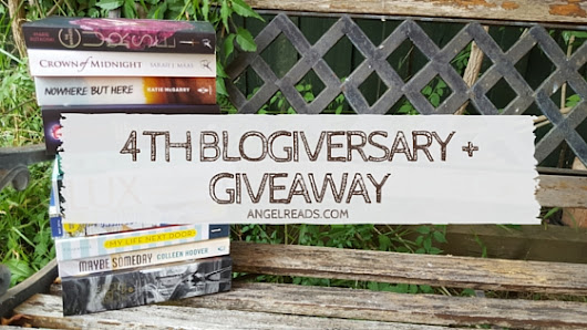 4 Years of Angel Reads + Giveaways (INT) - Angel Reads