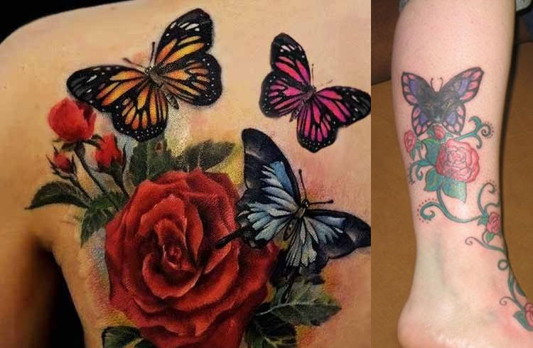Looking For A New Tattoo Get Inspired From These Butterfly Tattoo