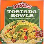 Rio Rancho: Tostada Bowls 4 Count, 5 Oz