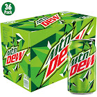 Mountain Dew Soda - 36 pack, 12 fl oz cans