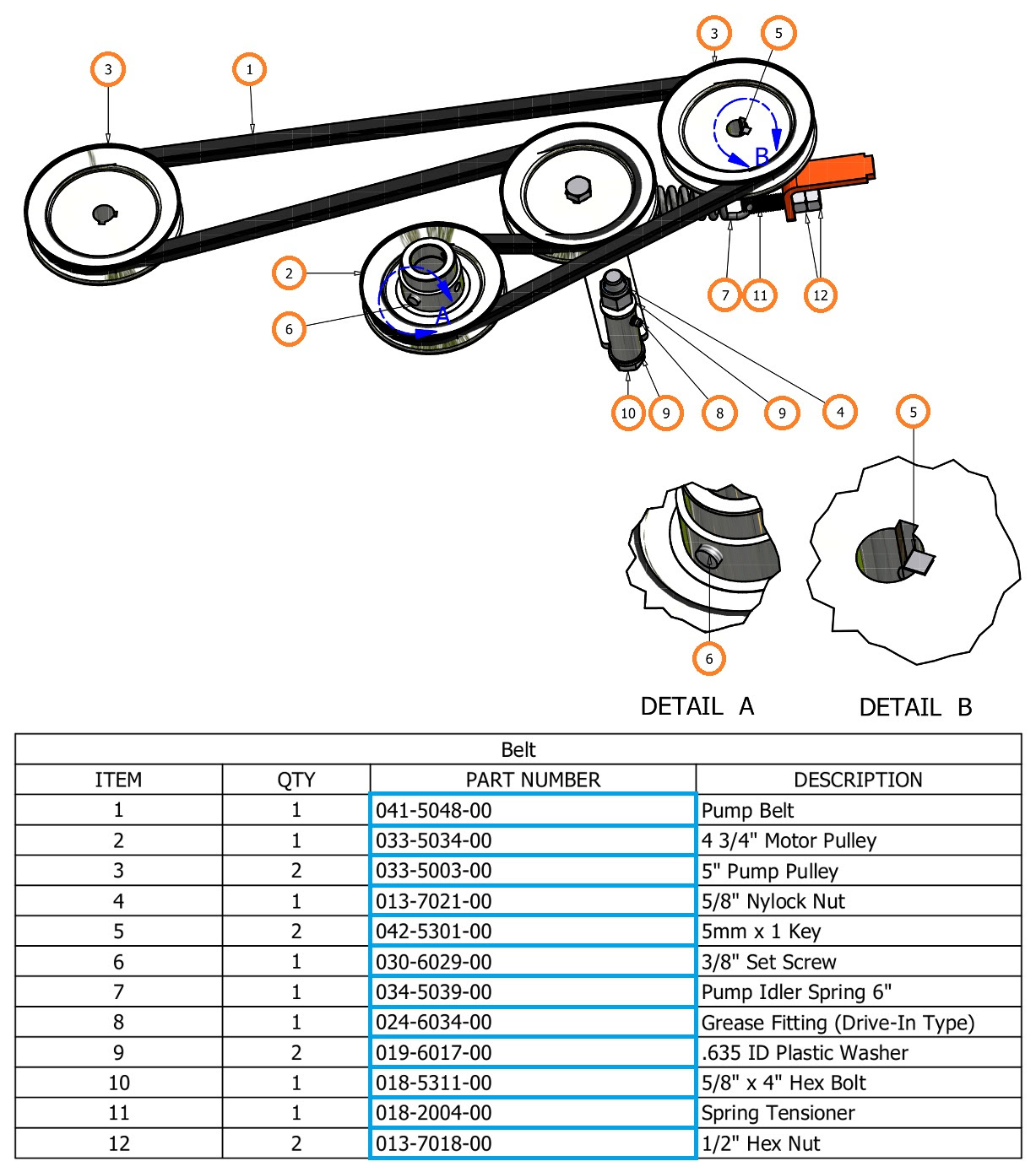 Bad Boy Mower Drive Belt Diagram