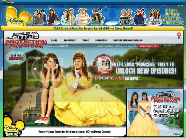 Disneychannel Com Princessprotectionprogram Disney Channel