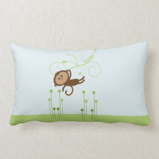 Monkey Baby Pillow throwpillow