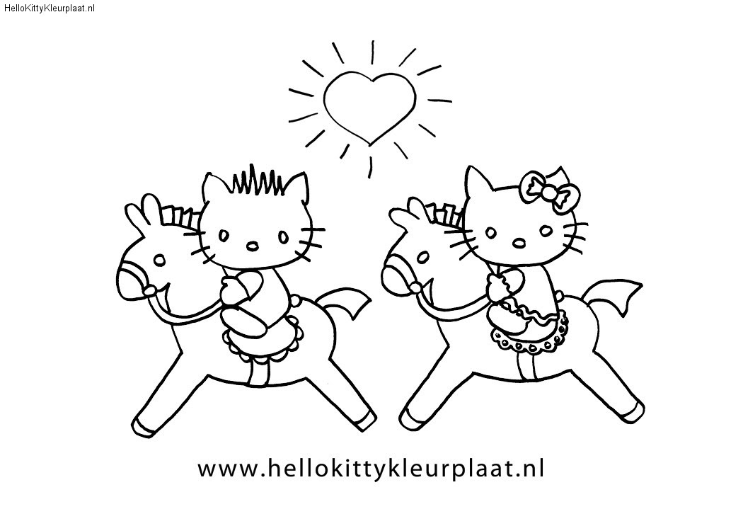 www kleurplaten nl hello