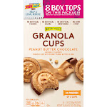 Nature Valley Peanut Butter Chocolate Granola Cups - 24 pack, 1.35 oz pouches