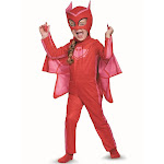 Disguise Owlette Classic Toddler PJ Masks Costume, Red