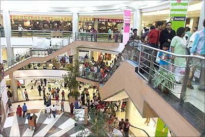 Inorbit mall in Mumbai